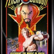 flash gordon movie poster music of queen rock group