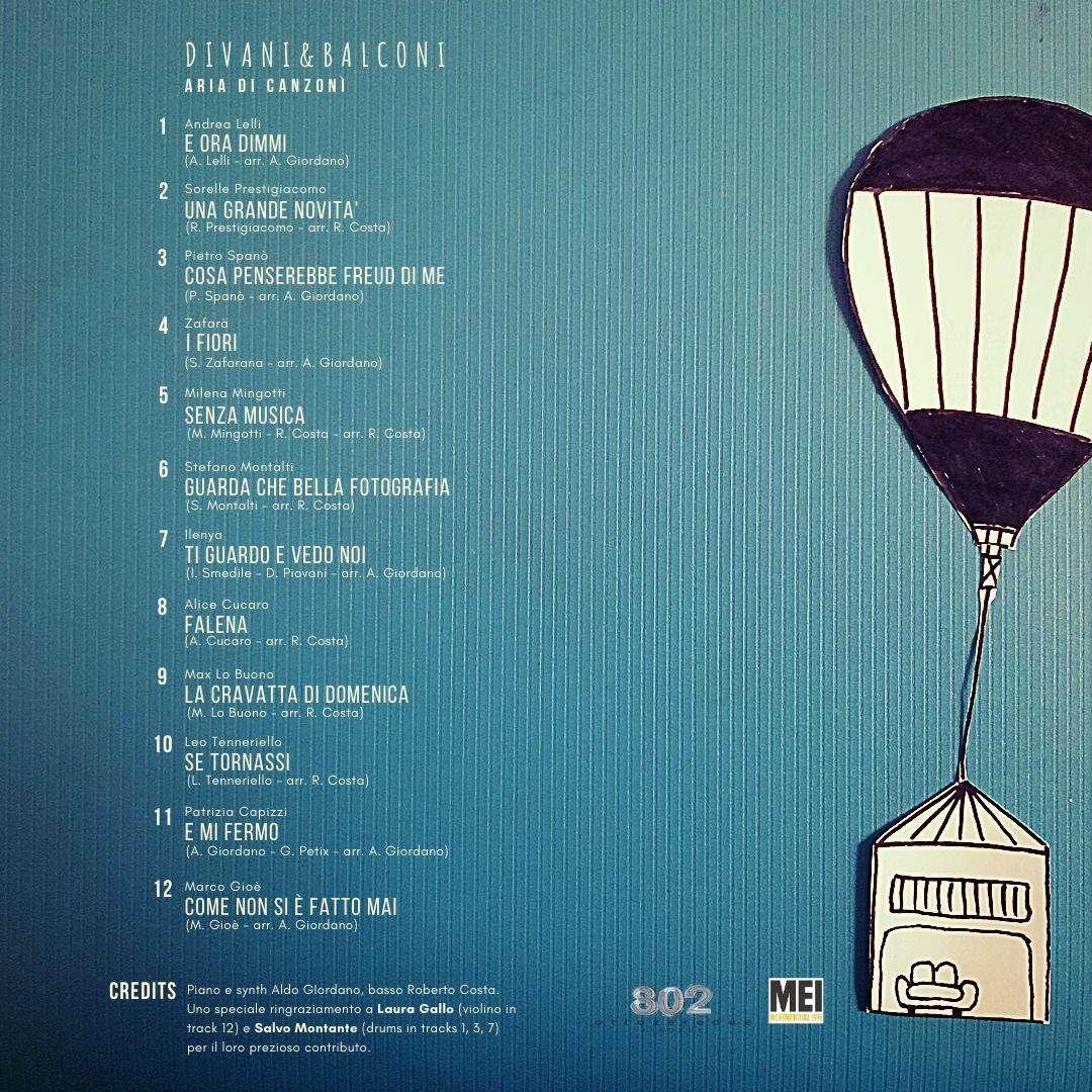 Album Cover back