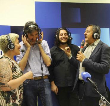 Marcella Sullo Duccio Pasqua Franceco Lettieri vincitore Musicultura 2019 e John Vignola