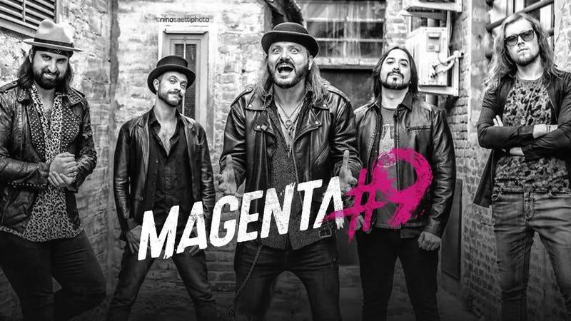 magenta9 band