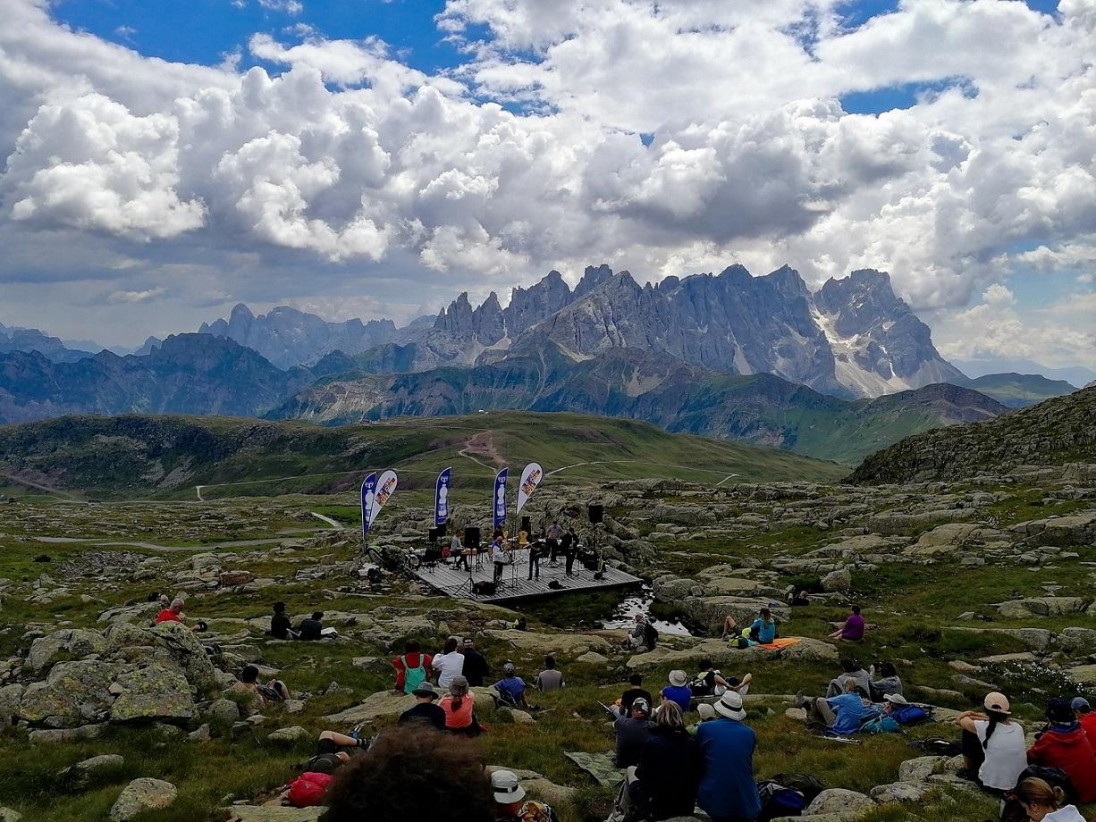 Col Margherita Val di Fassa Panorama Music 2018 di Marta Covi 2