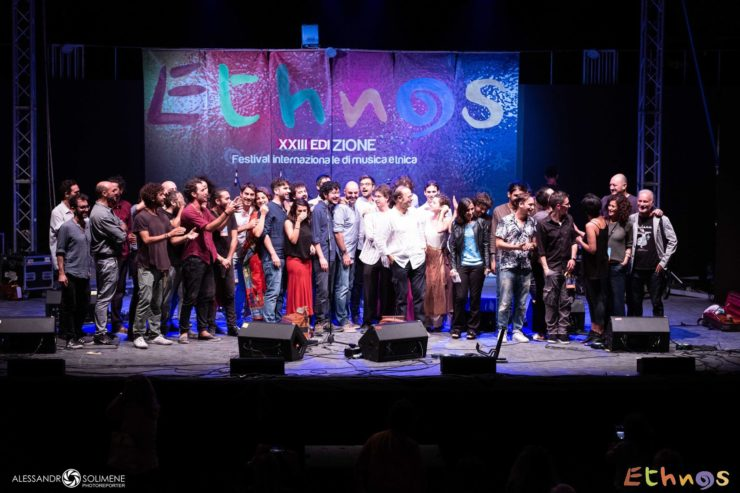 Foto conclusiva prima edizione Ethnos Gener Azioni