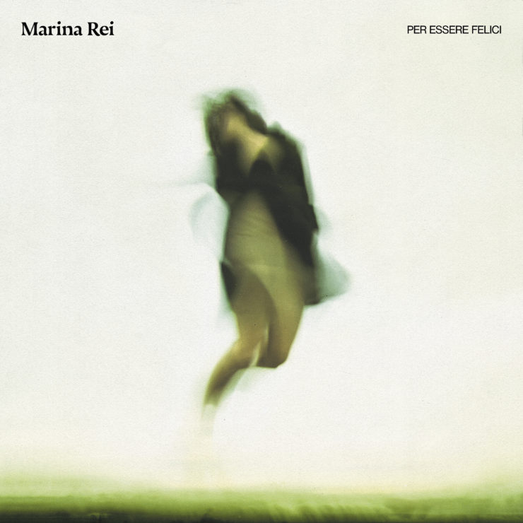 Marina Rei Per essere felici cover album