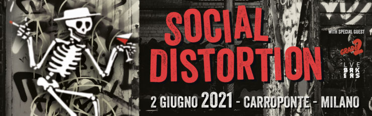 social distortion 2021 milano