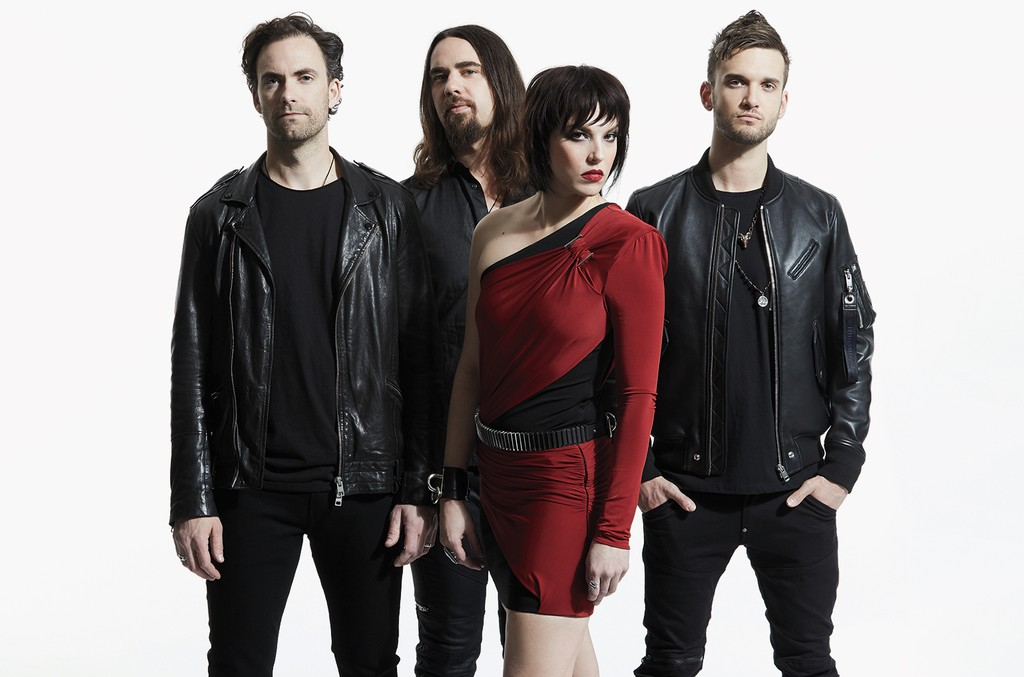 Halestorm band 2018