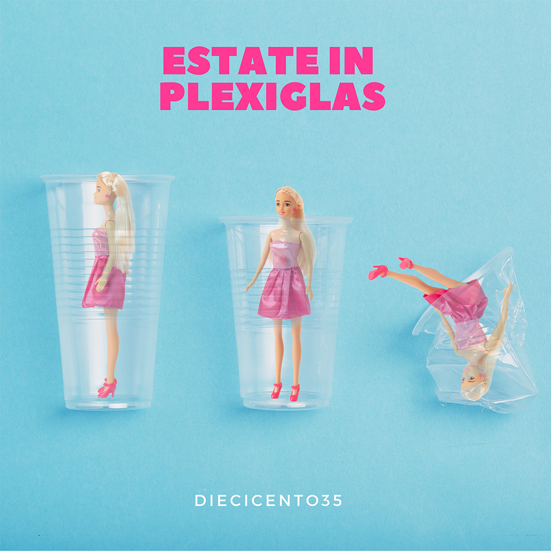diecicento35 estate in plexiglass cover