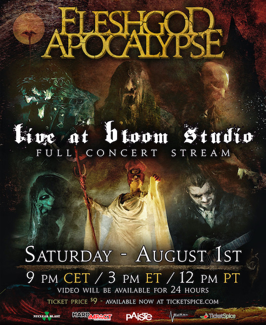 fleshgod apocalypse live at bloom studio 2020