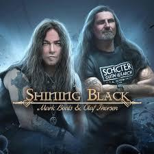 shining black band
