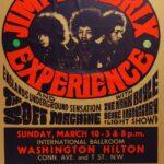 1968–Washington Hilton Jimi Hendrix Experience copia