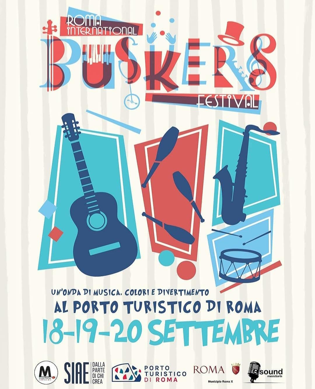 Locandina ROMA BUSKERS FESTIVAL
