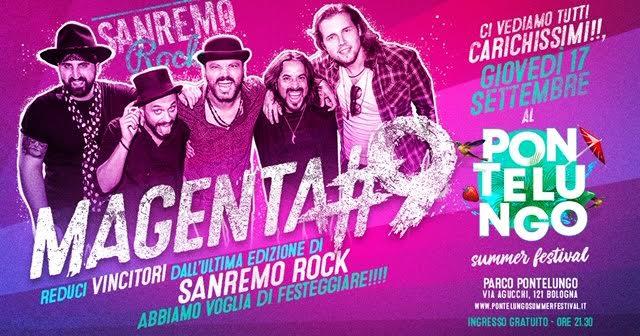 Magenta9 Pontelungo Summer Festival 2021