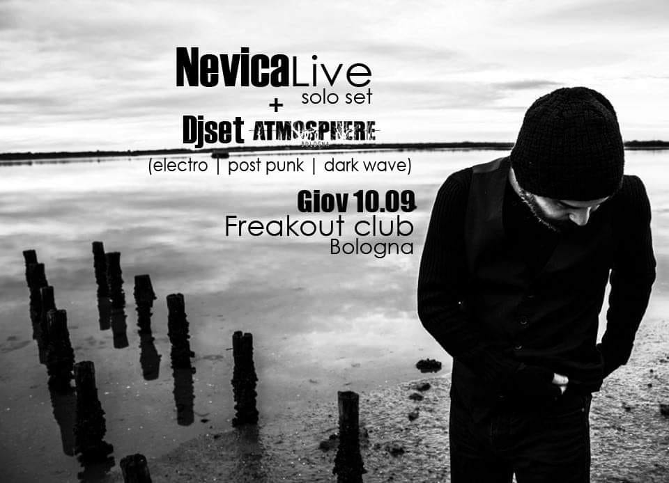 NEVICA DJ SET ATMOSPHERE FREAKOUT CLUB