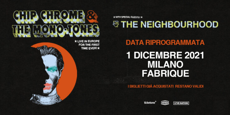 THE NEIGHBOURHOOD fabrique milano 2021