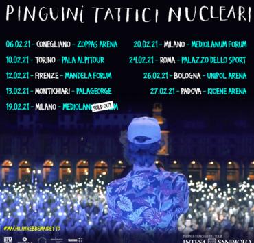 pinguini tattici nucleari 2021