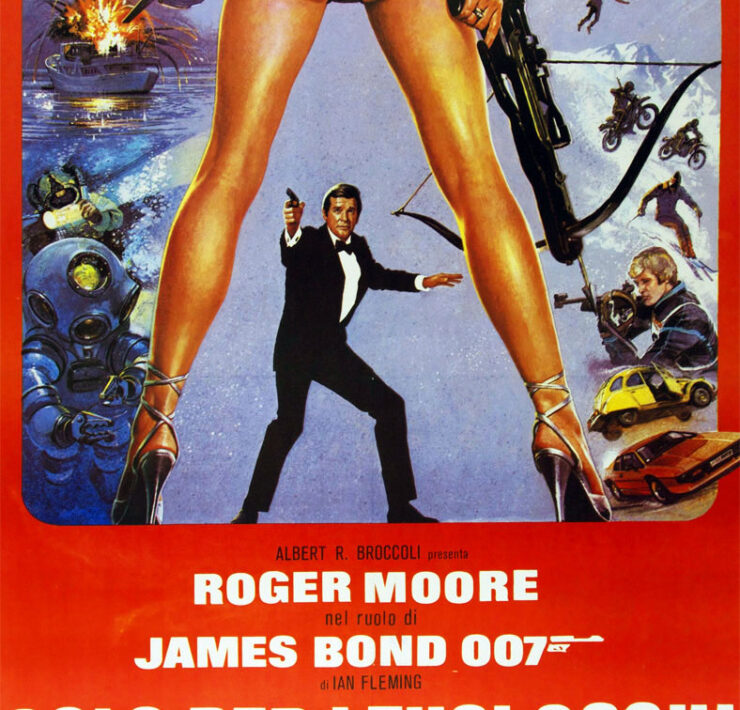 007 solo per i tuoi occhi cover