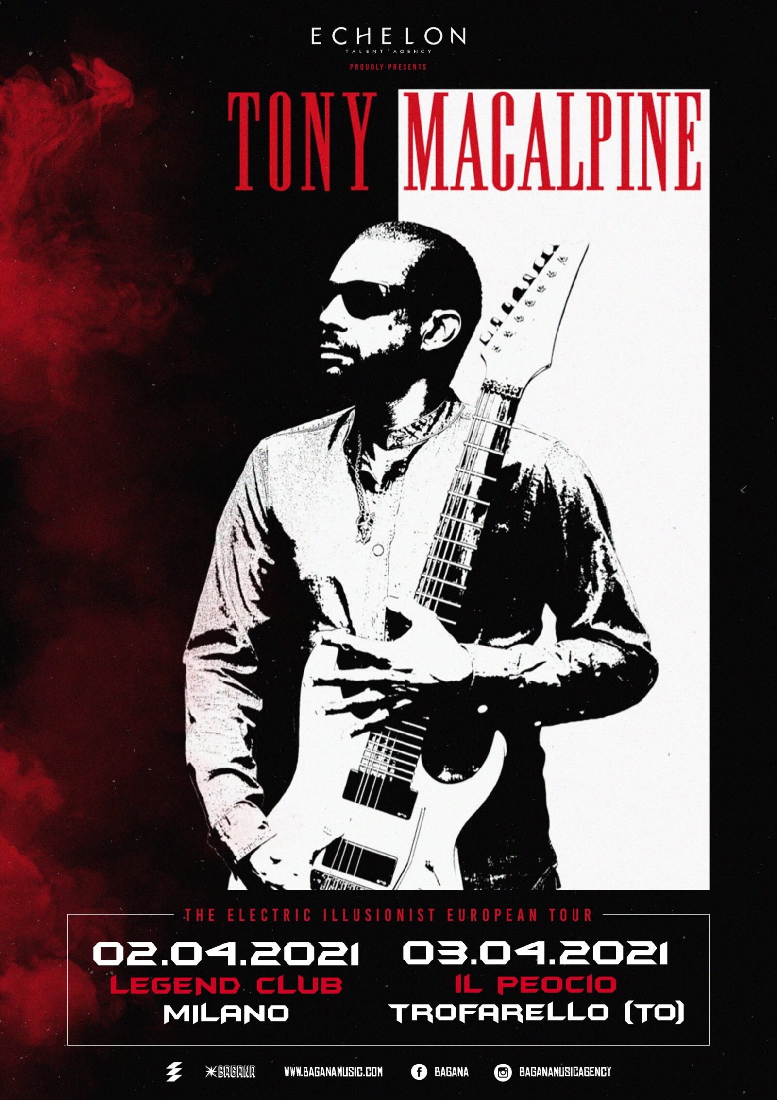 Tony MacAlpine Shows 2021