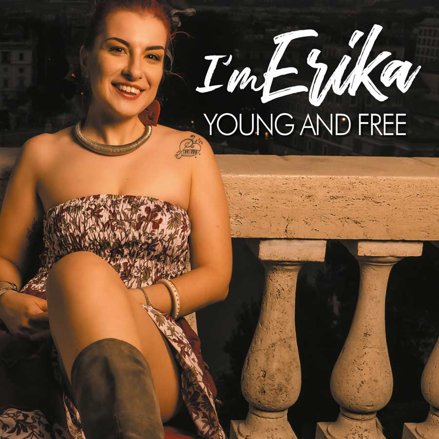i am erika young and free cover