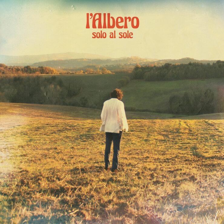 lAlbero Solo al sole copertina singolo print