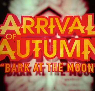 arrival of autumn bark at the moon