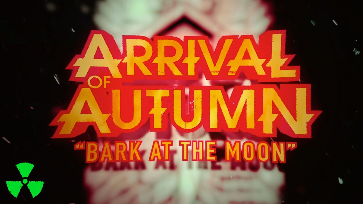 arrival of autumn bark at the moon