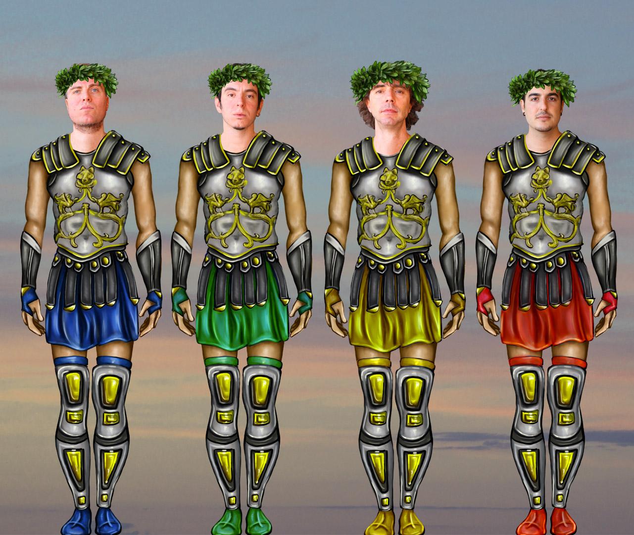 Marcondiro Foto Band Gli Romani 1