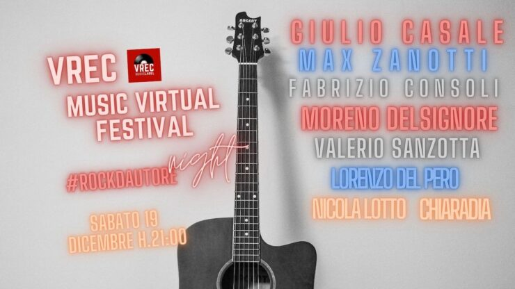 VREC MUSIC VIRTUAL FESTVAL 2020 2 serata