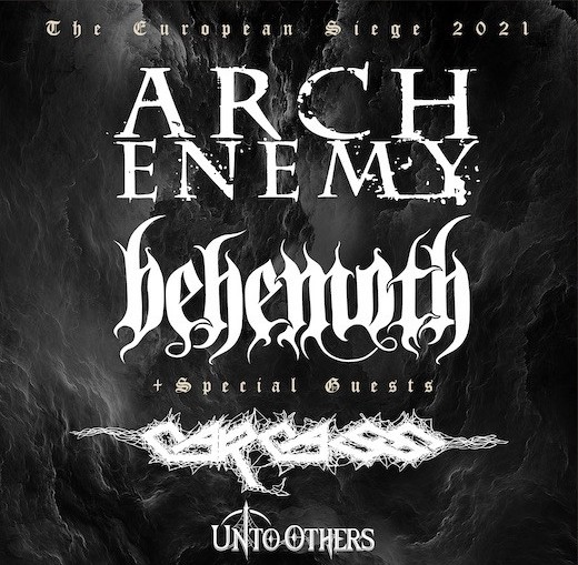 behemoth and carcass the european siege