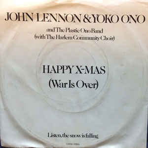 happy xmas war is over cover