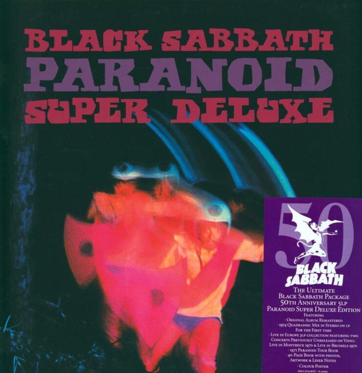 black sabbath paranoid 50