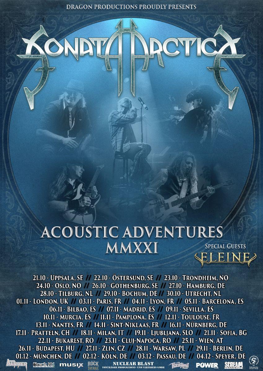 SONATA ARCTICA annunciano l'album acustico e il tour per l'autunno 2021 -  TuttoRock Magazine